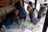 Kathmandu, Nepal: men playing chess in the streets - photo by G.Koelman