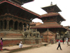 Nepal - Kathmandu: Durbar Square - palace - Hanuman Dhoka - pagoda buildings - UNESCO World heritage site - photo by M.Samper