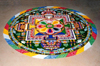 Nepal - Kathmandu: Buddhist mandala - circle in Sanskrit -geometric pattern which represents the cosmos metaphysically - photo by J.Kaman
