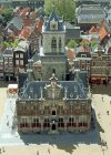 Netherlands - Delft: Stadhuis - view over the City Hall from the Nieuwe Kerk (photo by M.Bergsma)