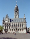 the Netherlands - Middelburg (Zeeland): city hall (photo by M.Bergsma)
