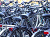 The Hague: bicycles - Loads of bikes in front of Den Haag Central Station (photo by M.Bergsma)