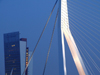 Netherlands - Rotterdam / RTM (Zuid-Holland): Rotjeknor - Erasmus bridge and KPN tower / Erasmus Brug (photo by M.Bergsma)