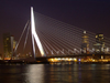 Netherlands - Rotterdam / RTM (Zuid-Holland): Rotjeknor - Erasmus bridge - cable stayed bridge / Erasmus Brug - Erasmusbrug (photo by M.Bergsma)