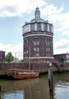 Netherlands - Rotterdam / RTM (Zuid-Holland): Rotjeknor - water tower / Watertoren (photo by M.Bergsma)