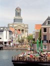 Netherlands - Leiden: city centre - café life (photo by M.Bergsma)
