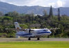 New Caledonia / Nouvelle Calédonie - Noumea: ATR42 lands at Noumea Magenta airport (photo by R.Eime)