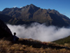 12 New Zealand - South Island - Fiordland National Park - enjoying the mountains and the clouds - Southland region (photo by M.Samper)