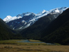 20 New Zealand - South Island - West Matukituki Valley - the river, Mt. Aspiring National Park - Otago region (photo by M.Samper)