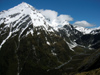 21 New Zealand - South Island - West Matukituki Valley - river and peaks, Mt. Aspiring National Park - Otago region (photo by M.Samper)