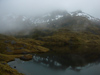 24 New Zealand - South Island - Pleasant Range - lake, Fiordland National Park - Southland region (photo by M.Samper)