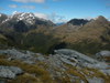 26 New Zealand - South Island - Centre Pass - on a ridge, Fiordland National Park - Southland region (photo by M.Samper)