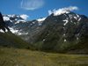 32 New Zealand - South Island - Fiordland National Park - slope and peak - Southland region (photo by M.Samper)