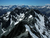 64 New Zealand - South Island - Mt. Cook in the distance from the Dasler Pinnacles - Canterbury region (photo by M.Samper)