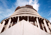 19 New Zealand - North Island - Wellington - thr Beehive - Parliament's Executive Wing - Lambton Quay - photo by Miguel Torres