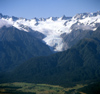 New Zealand - South island: Franz Josef Glacier - in the distance - Westland National Park - photo by Air West Coast