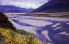 ew Zealand - South Island - Waimakariri River - Canterbury region - photo by  Air West Coast