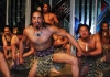 New Zealand - North island - Wellington: Maori men perform haka (photographer R.Eime)