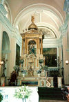 Nicaragua - Leon: altar at the Basilica - photo by G.Frysinger