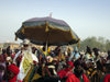 Kano, Nigeria: His Royal Highness, The Emir of Kano at the Salla Durbar festival - Eid al-Adha - Aïd el-Kebir - photo by A.Obem