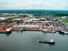 Port Harcourt, Rivers State, Nigeria: ships in the port - Bonny River - photo by A.Bartel