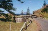 Norfolk island: Bloody bridge, where convicts killed a guard and were hence executed themselves (photo by Galen R. Frysinger)