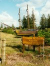 Norfolk island: Pitcairn Settlers Village - model of the Bounty (photo by Galen R. Frysinger)