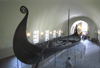 Norway Oslo: Gokstad Ship - restored Viking longship  in Viking Ship Museum - drakkar - Vikingskipshuset (photo by B.Cain)