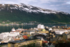Norway / Norge - Tromsø / Tromso / TOS (Troms): view of the Grøtsundet - Grotsundet (photo by Peter Willis)