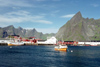 Norway / Norge - Å - Lofoten islands (Nordland): harbour view (photo by Juraj Kaman)