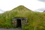 Orkney island - Skara Brae- Entrance to one of the Neolithic houses - photo by Carlton McEachern