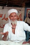 Lahore (Punjab): Muslim man (photo by Juraj Kaman)