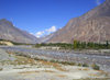 Hunza Valley - Northern Areas, Pakistan: following the Hunza River - Karakoram Highway - N35 - KKH - Hunza tour - photo by D.Steppuhn