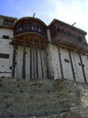 Karimabad / Baltit - Northern Areas, Pakistan: Baltit fort, once used by the Mirs of Hunza - now a museum run by the Baltit Heritage Trust - Hunza Valley - KKH - photo by D.Steppuhn