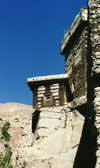 Altit village, Karimabad - Hunza valley, Northern Areas, Pakistan: Altit fort - once the residence of the Mirs of Hunza, an independent princely state for a thousand years - photo by G.Frysinger