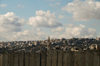 near Bethlehem, West Bank, Palestine: view over the Wall - Israeli West Bank barrier - photo by J.Pemberton