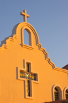 Panama City: church detail - Parroquia San Juan Apostol Evangelista, Brisas del Golf suburb - photo by H.Olarte