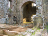 Panama City: Panama Viejo. Cathedral Tower Ruins - interior - photo by H.Olarte