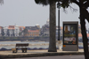 Panama City: Casco Viejo and Panama city billboard - photo by H.Olarte