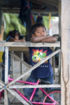 Panama - Bocas del Toro - Kid stares at the camera, Isla Colon, Bocas del Toro - photo by H.Olarte