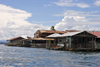 Panama - Bocas del Toro - Isla Colon - shabby houses - photo by H.Olarte
