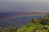 Panama - Cerro Azul: rainbow over the jungle - photo by H.Olarte