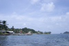 waterfront - Isla Grande, Col�n, Panama, Central America - photo by H.Olarte