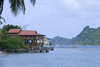 waterfront properties - Isla Grande, Col�n, Panama, Central America - photo by H.Olarte