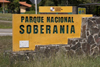 Panama City / Ciudad de Panama: Sovereignty National Park - Parque Nacional Soberania - entrance - includes Summit botanical gardens and a zoo - corregimiento de Ancón - photo by H.Olarte