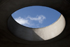 Panama City / Ciudad de Panama: Skylight at the Ascanio Arosemena Training Center. Balboa - photo by H.Olarte