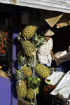 Santiago de Veraguas, Panama: pineapples for sale at El Mosquero, - photo by H.Olarte