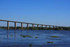 Presidente Hayes department, Paraguay: Remanso bridge over the River Paraguay a Remanso Castillo - photo by A.Chang