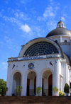 Caacup�, department of Cordillera, Paraguay: Basilica of Our Lady of Miracles - hosts a major religious festival, annually on 8 December - Villa Serrana - photo by A.Chang