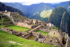 Machu Pichu, Cusco region, Peru: Inca city in the clouds - Historic Sanctuary of Machu Picchu - Unesco world heritage site - one of the New Seven Wonders of the World - photo by L.Moraes